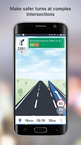 screenshot of Free GPS Navigation version Varies with device