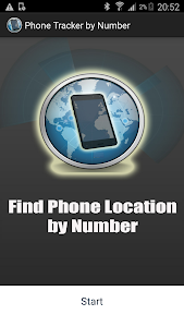 screenshot of Track a Phone by Number version 2.9