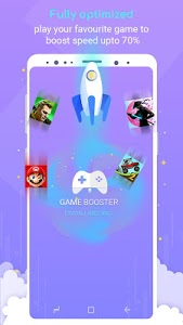 screenshot of Game Booster - One Tap Advanced Speed Booster version 1.0.14