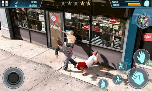 screenshot of Gangster Survival 3D - Crime City 2019 version 1.04