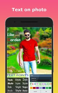 screenshot of Garden Photo Editor - Garden Photo Frames version 1.0.9
