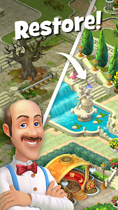 screenshot of Gardenscapes version 2.8.6