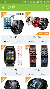 screenshot of Geek - Smarter Shopping version 2.4.0