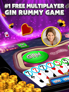 screenshot of Gin Rummy Plus version 6.3.7