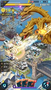 screenshot of Godzilla Defense Force version 2.3.4