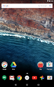 screenshot of Google Now Launcher version 1.4.large