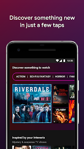 screenshot of Google Play Movies & TV version Varies with device