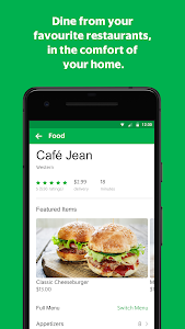 screenshot of GrabFood - Food Delivery App version 1.0.32