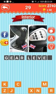 screenshot of Guess The Word : Car Vocabulary version 1.4