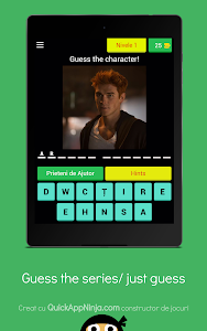 screenshot of Guess the TV SERIES, just guess version 3.1.9z