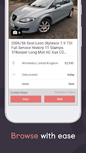 screenshot of Gumtree: Buy & Sell Local deals. Find Jobs & More version 3.24.0