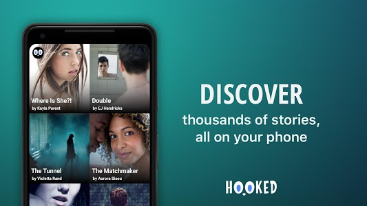 screenshot of HOOKED - Chat Stories version 4.4