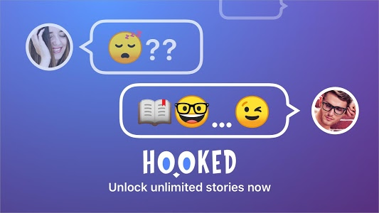screenshot of HOOKED - Chat Stories version 1.79.0