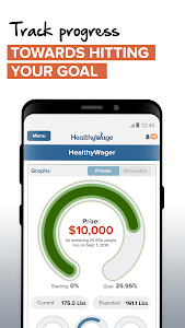 screenshot of Weight Loss Bet by HealthyWage version 4.20.03