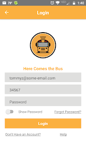screenshot of Here Comes the Bus version 2.7.3