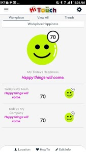 screenshot of HiTouch : Happiness Index version 1.4.3