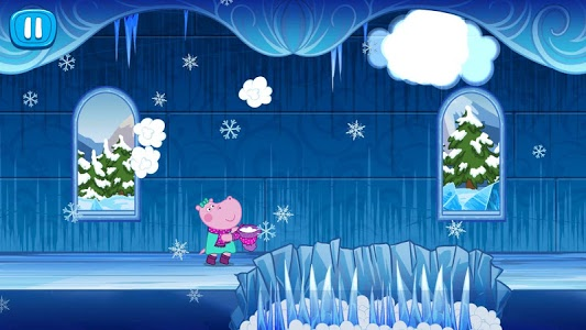 screenshot of Hippo's tales: Snow Queen version 1.1.8