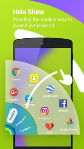 screenshot of Hola Launcher- Theme,Wallpaper version 3.2.5