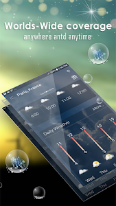 screenshot of Hourly weather forecast version 1.2.3