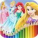 How To Color Disney Princess - Coloring Pages