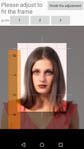 screenshot of ID Photo application version 1.1.21