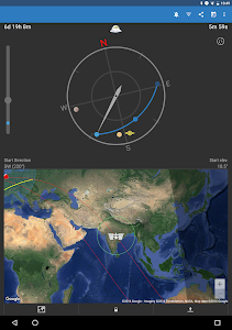 screenshot of ISS Detector: See the Space Station version 2.03.76