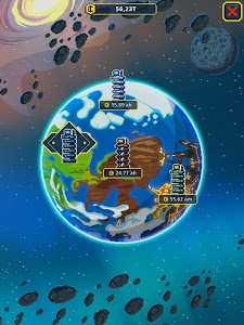 screenshot of Idle Space Tycoon - Incremental Zen Game version 1.1.3