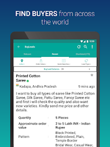 screenshot of IndiaMART: Search Products, Buy, Sell & Trade version 12.3.1