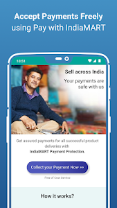 screenshot of IndiaMART: Search Products, Buy, Sell & Trade version 12.4.5