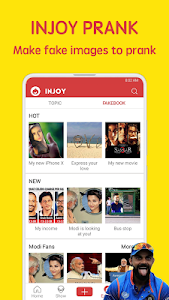 screenshot of Injoy - Funniest Indian App for Videos and Memes version V2.6.4