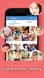 screenshot of InstaMessage-Chat,meet,hangout version 2.3.8