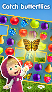 screenshot of Masha and The Bear Jam Day Match 3 games for kids version 1.4.99