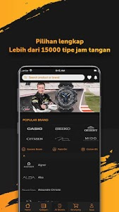 screenshot of Jamtangan.com: Online Watch Store version 1.1.0