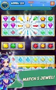 screenshot of Jewels Classic 2019 version 1.9.13
