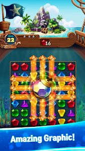 screenshot of Jewels Fantasy : Quest Match 3 Puzzle version 1.5.0
