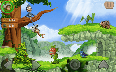 screenshot of Jungle Adventures 2 version 5.9