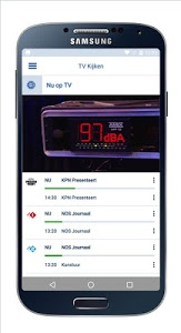 screenshot of KPN Interactieve TV version Varies with device