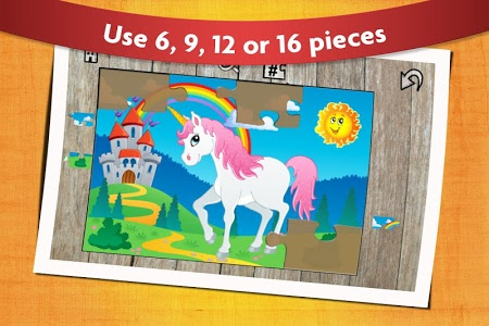 screenshot of Kids Animals Jigsaw Puzzles  version 10.2
