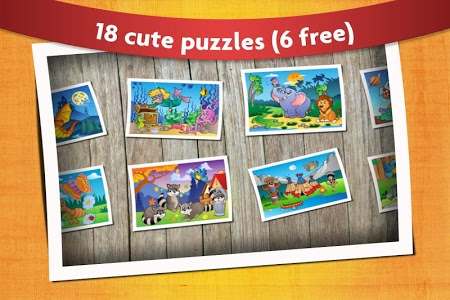 screenshot of Kids Animals Jigsaw Puzzles  version 12.5