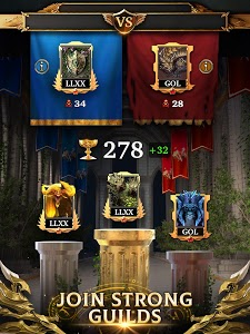 screenshot of Legendary Game of Heroes: Match-3 RPG Puzzle Quest version 3.6.9