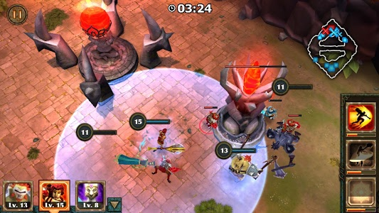 screenshot of Legendary Heroes MOBA version 3.0.52