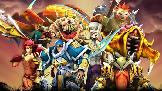 screenshot of Legendary Heroes MOBA version 2.3.5