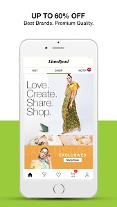 screenshot of LimeRoad Online Shopping App for Women, Men & Kids version 6.0.5