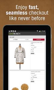 screenshot of LimeRoad Online Shopping App version 5.4.7