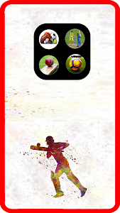 screenshot of Live Sports Cricket & Football version 3.0.0