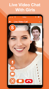 screenshot of Live Video Chat - Random Video Call with Girls version 5.0
