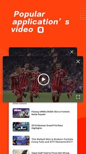 screenshot of live tv-free live streaming video shows version 1.3.1