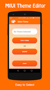 screenshot of Theme Editor For MIUI version 1.6.1