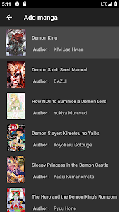 screenshot of Mandrasoft Manga Reader version 2.3.0