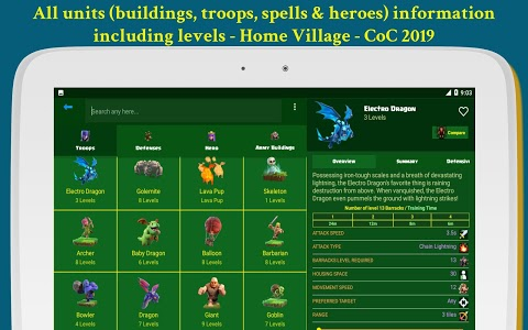 screenshot of Maps of Clash of Clans 2019 version 1.2